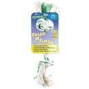 Fresh N Floss 3 Knot Tug Bone Large - Spearmint