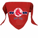 Boston Red Sox Dog Bandana - Large