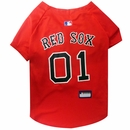 Boston Red Sox Dog Jersey - Large