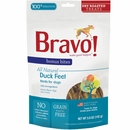 Bravo Bonus Bites Dry-Roasted Duck Feet Dog Treats (5 oz)