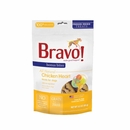 Bravo Bonus Bites Freeze Dried Chicken Heart Dog Treats (3 oz)
