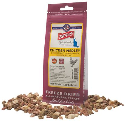 Bravo! Healthy Medley Chicken for Cats - 1.5 oz - from EntirelyPets