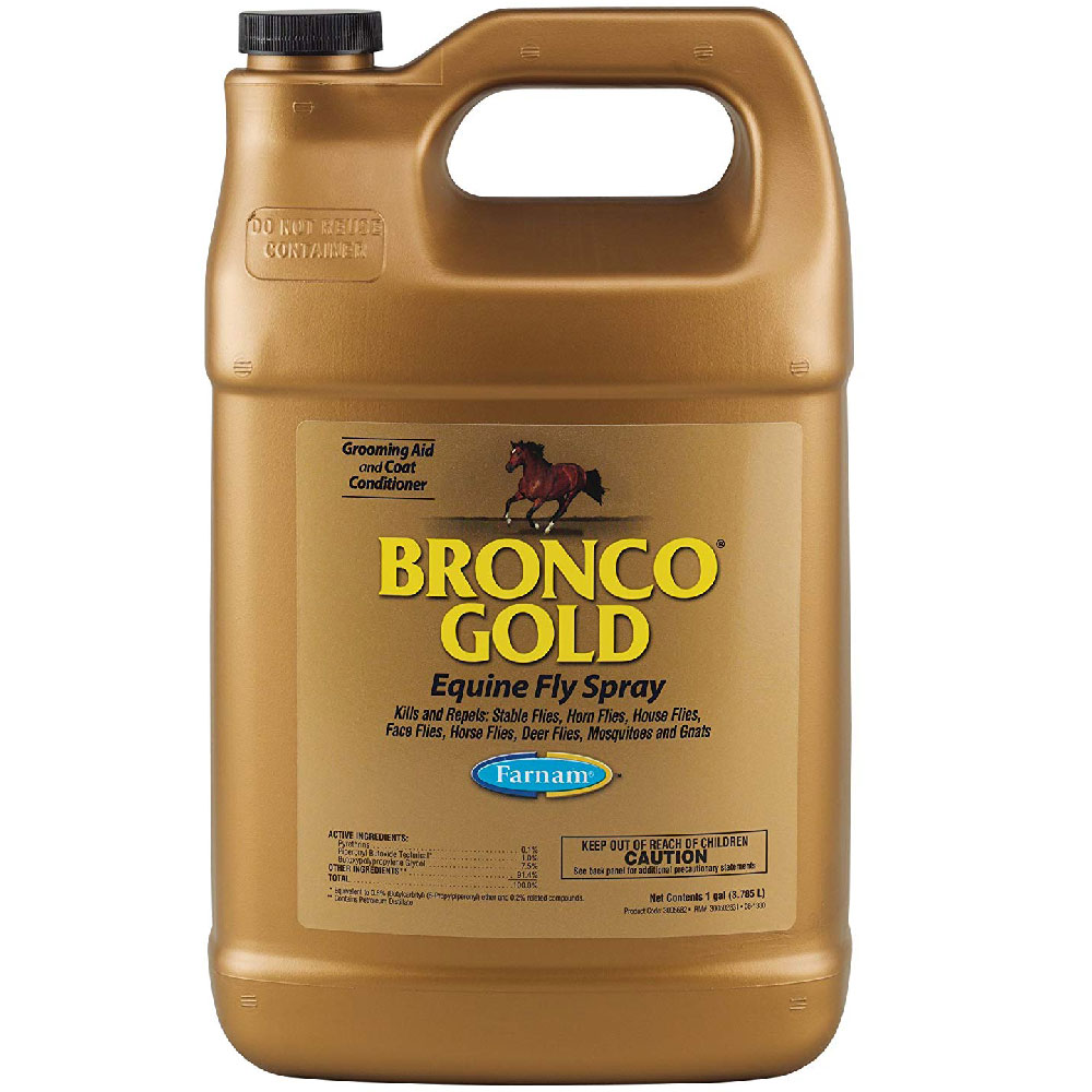 Image of Bronco Gold Equine Fly Spray (1 Gallon)