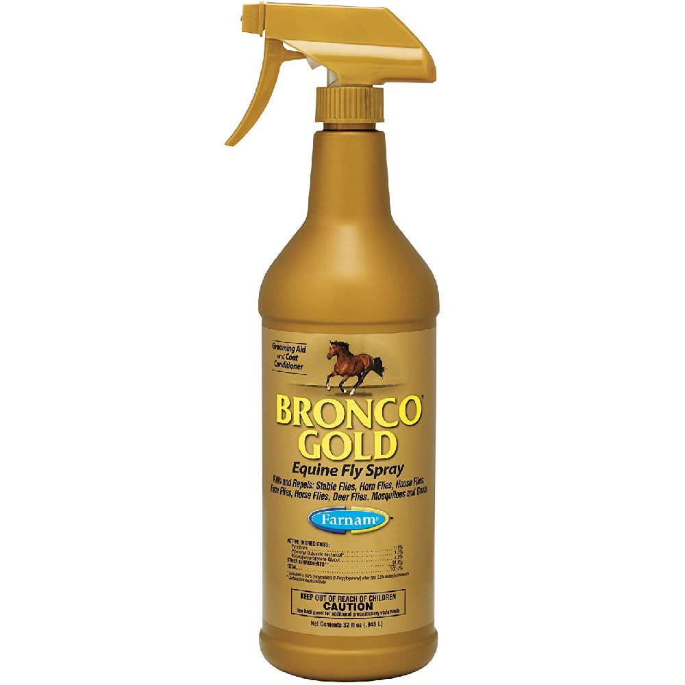 Image of Bronco Gold Equine Fly Spray (32 oz)