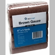 """Brown Gauze Roll Non-Sterile (6""""x5yds) - 12 pack"""