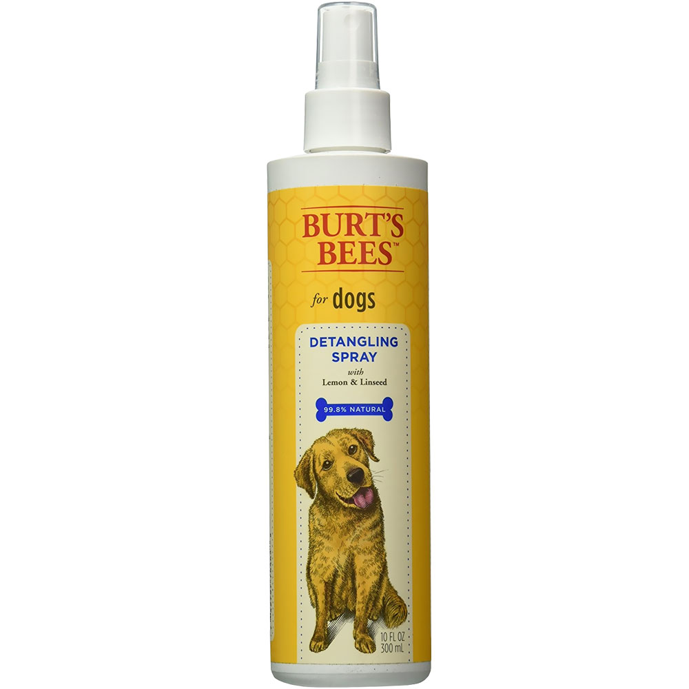 Pet Safe. Grooming Products. Burt's Bee for Dogs Detangling Spray with Lemon & Linseed