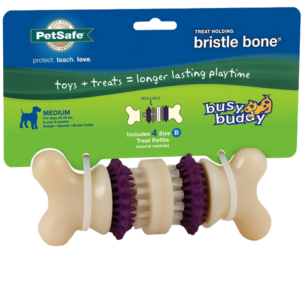 Image of Busy Buddy Bristle Bone - Medium