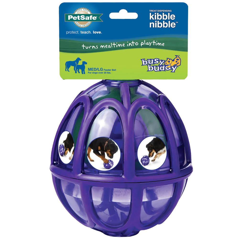 Image of Busy Buddy Kibble Nibble Ball Toy - Medium/Large