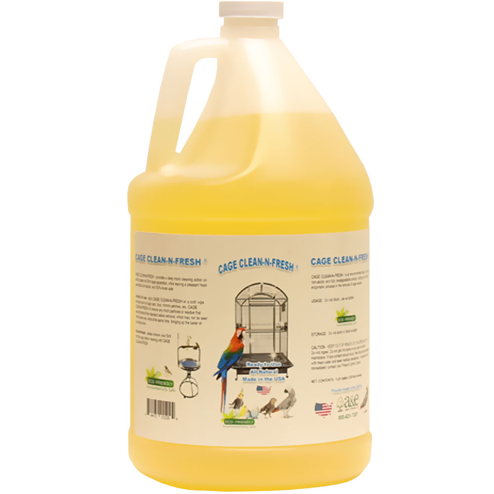 Image of Cage Clean-N-Fresh - Lime Scented - 128 oz - from EntirelyPets