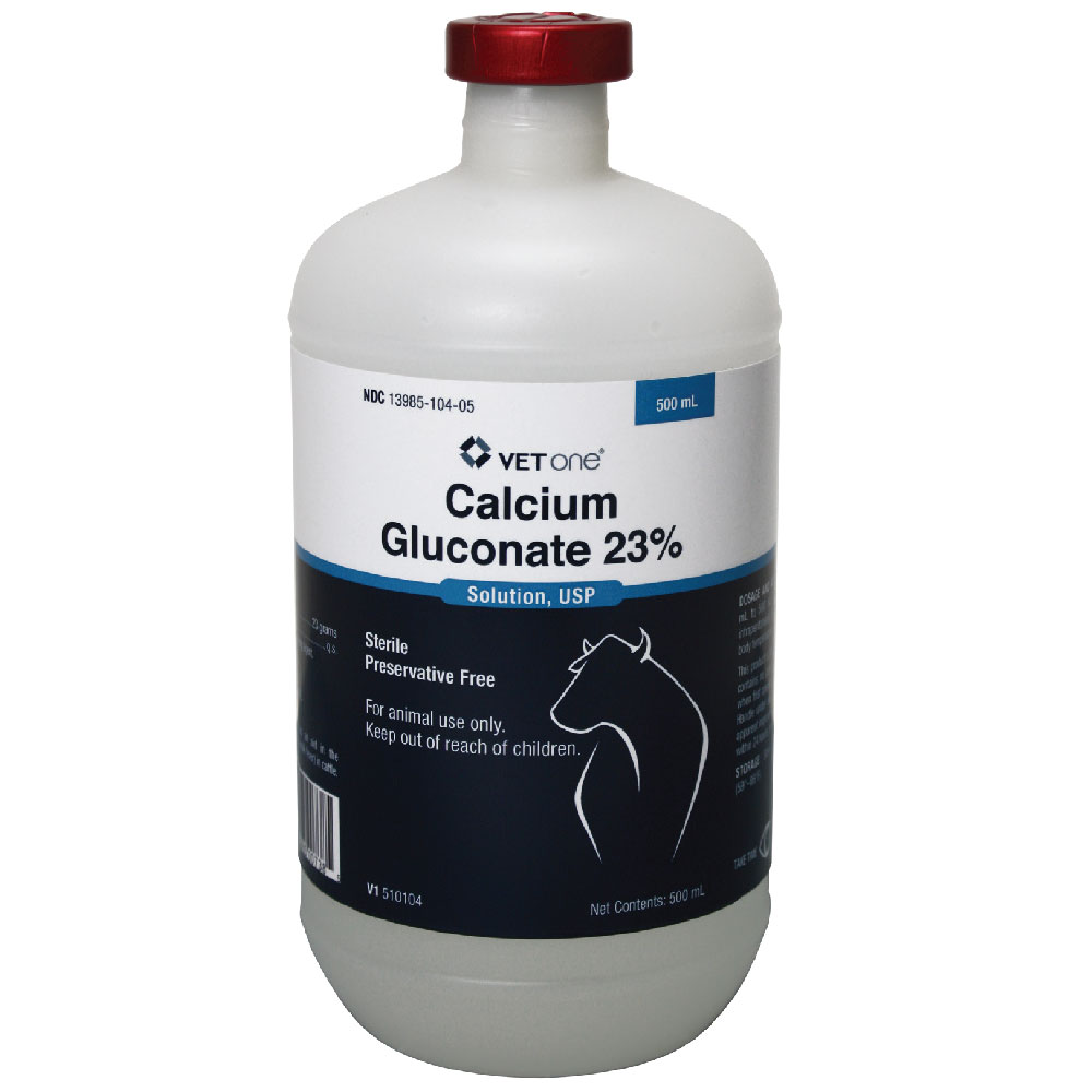 Calcium Gluconate 23% Sterile Preservative Free Solution, 500mL im test