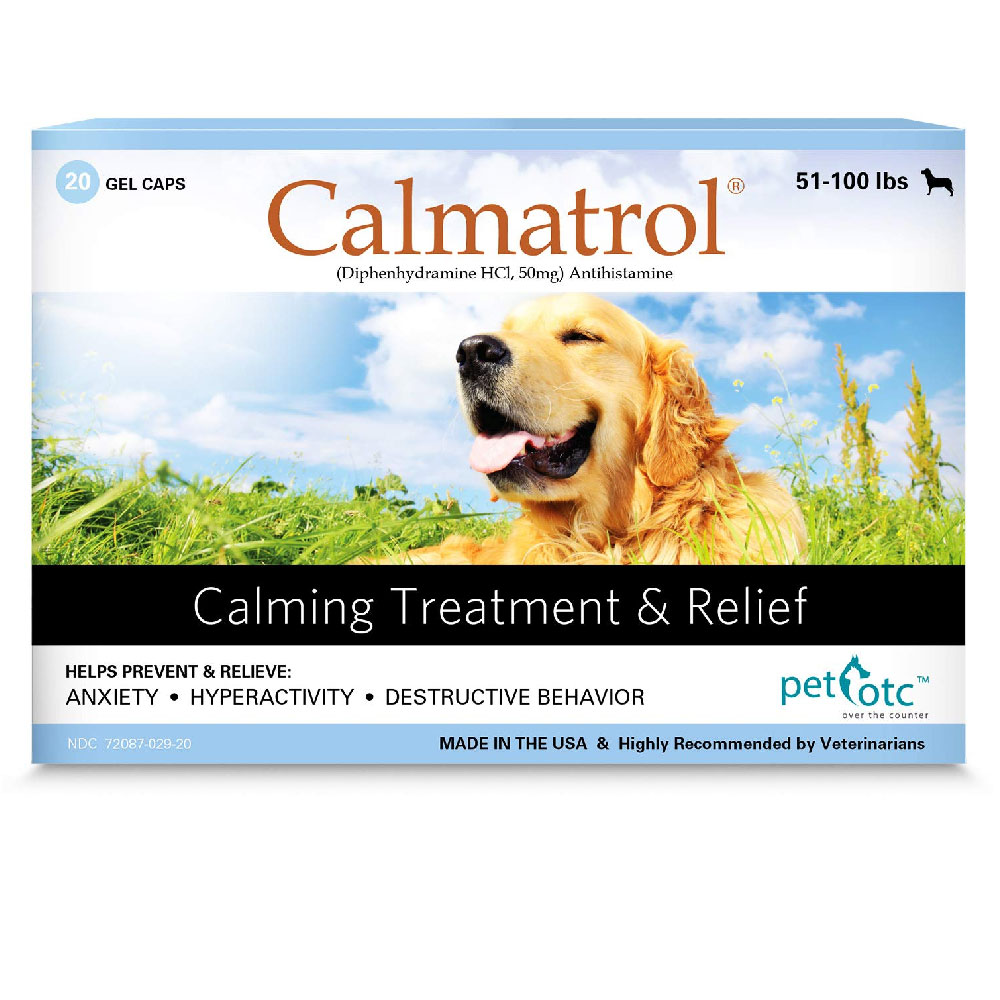 Calmatrol Calming Treatment & Relief 51-100 lbs (20 capsules) im test