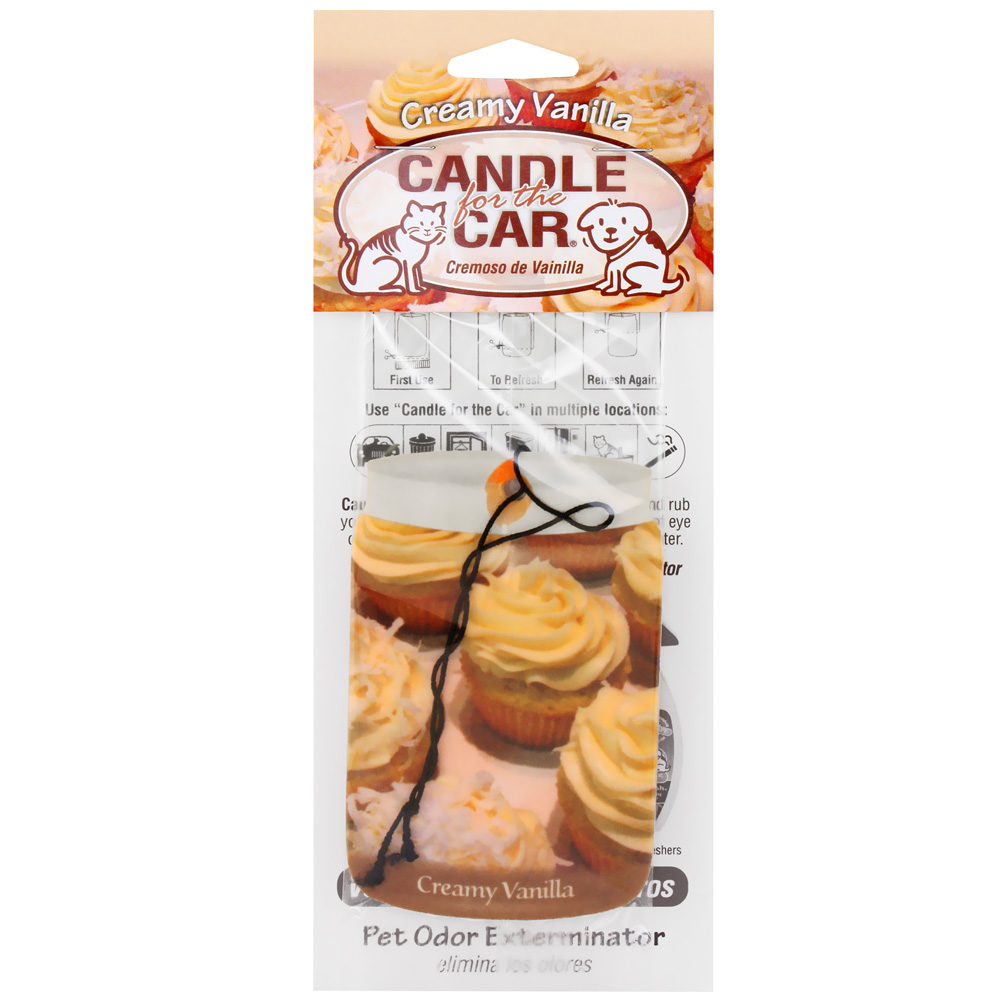 Image of Candle for the Car - Creamy Vanilla