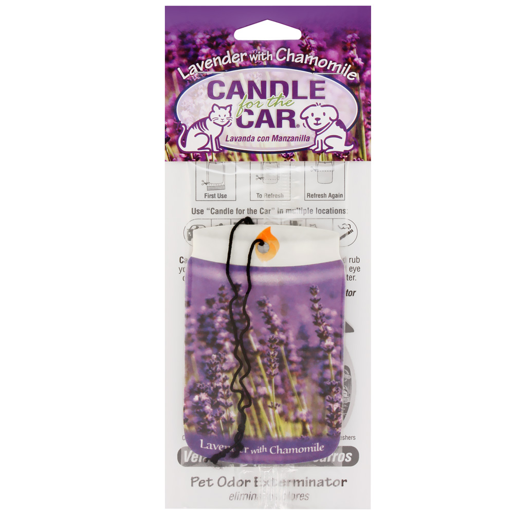Candle for the Car - Lavender with Chamomile im test