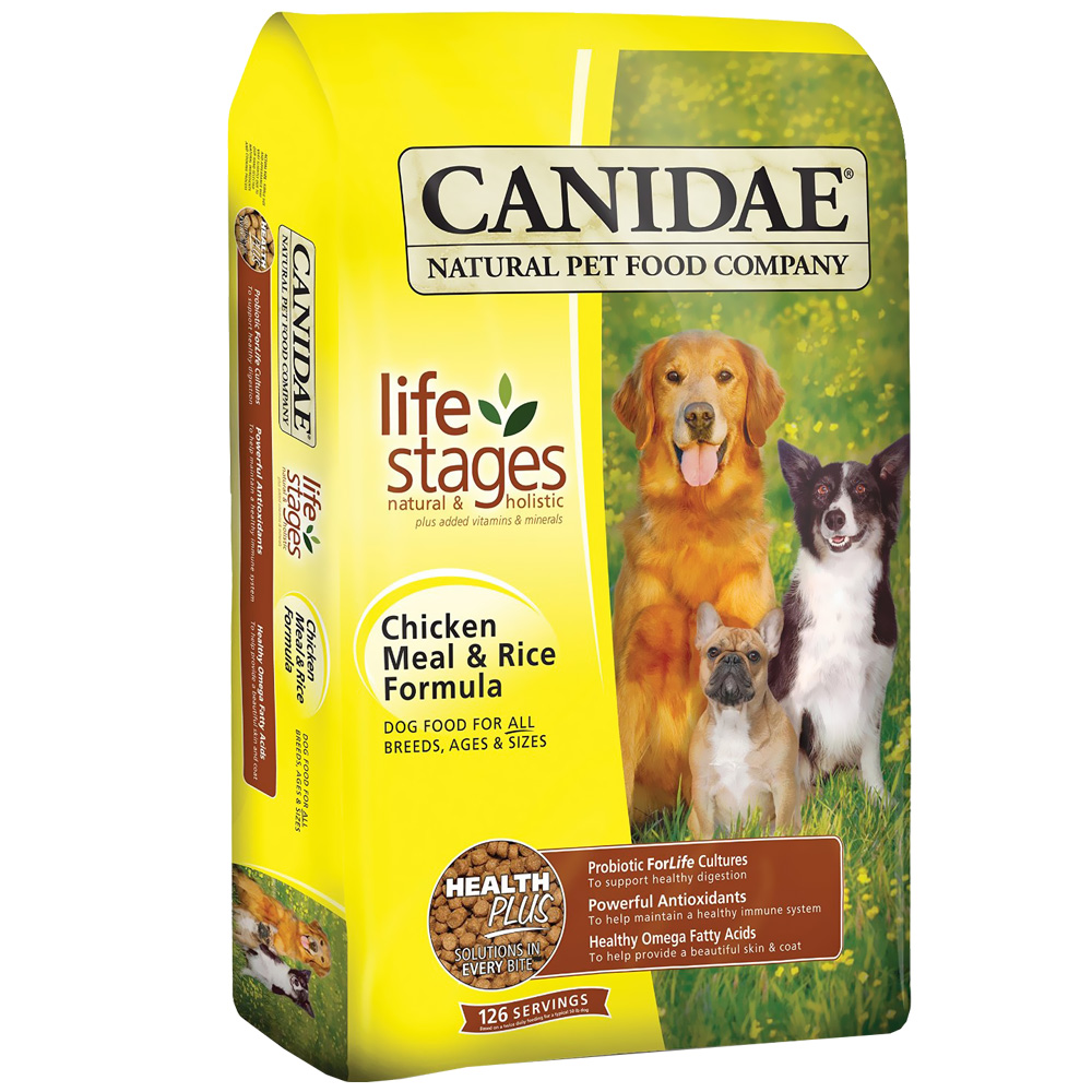Canidae Life Stages Dry Dog Food - Chicken & Rice (5 lb) im test