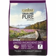 CANIDAE Grain-Free PURE Limited Ingredient Trout Formula Dry Cat Food (10 lb)