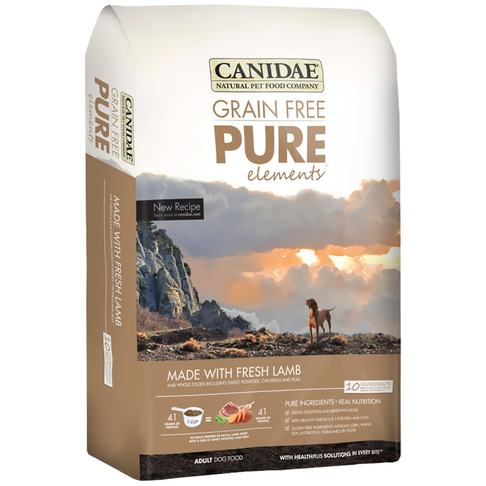 Canidae Grain Free PureElements Adult Dry Dog Food - Lamb (12 lb) im test