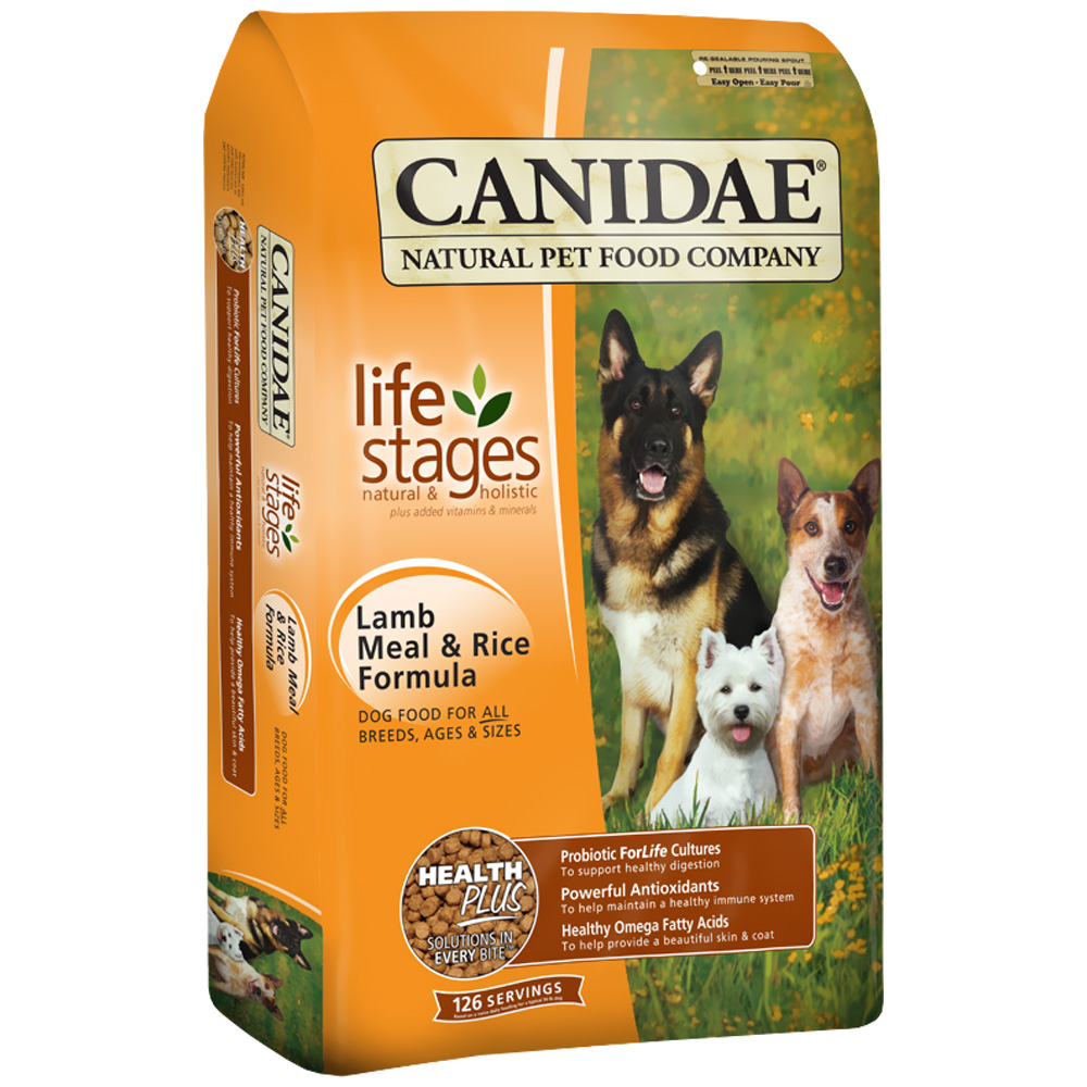 Canidae Life Stages Dry Dog Food - Lamb & Rice (5 lb)