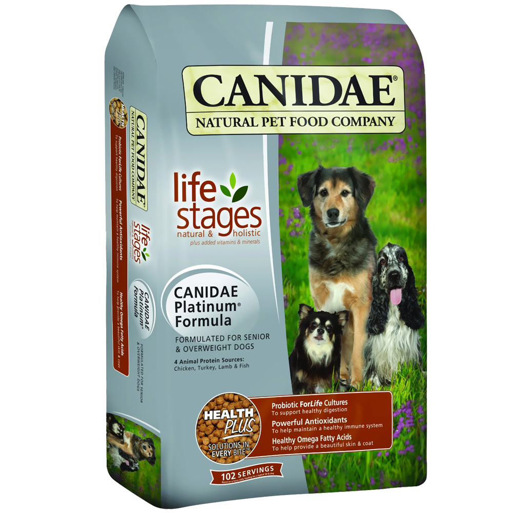 Canidae Platinum Dry Dog Food - Senior & Overweight (15 lb)