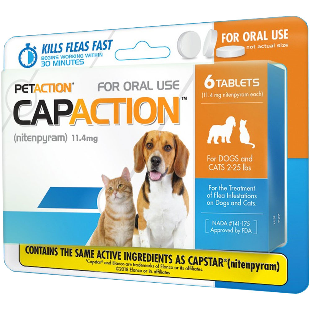 CapAction for Dogs 11.4mg (2-25 lbs) - 6 Tablets im test
