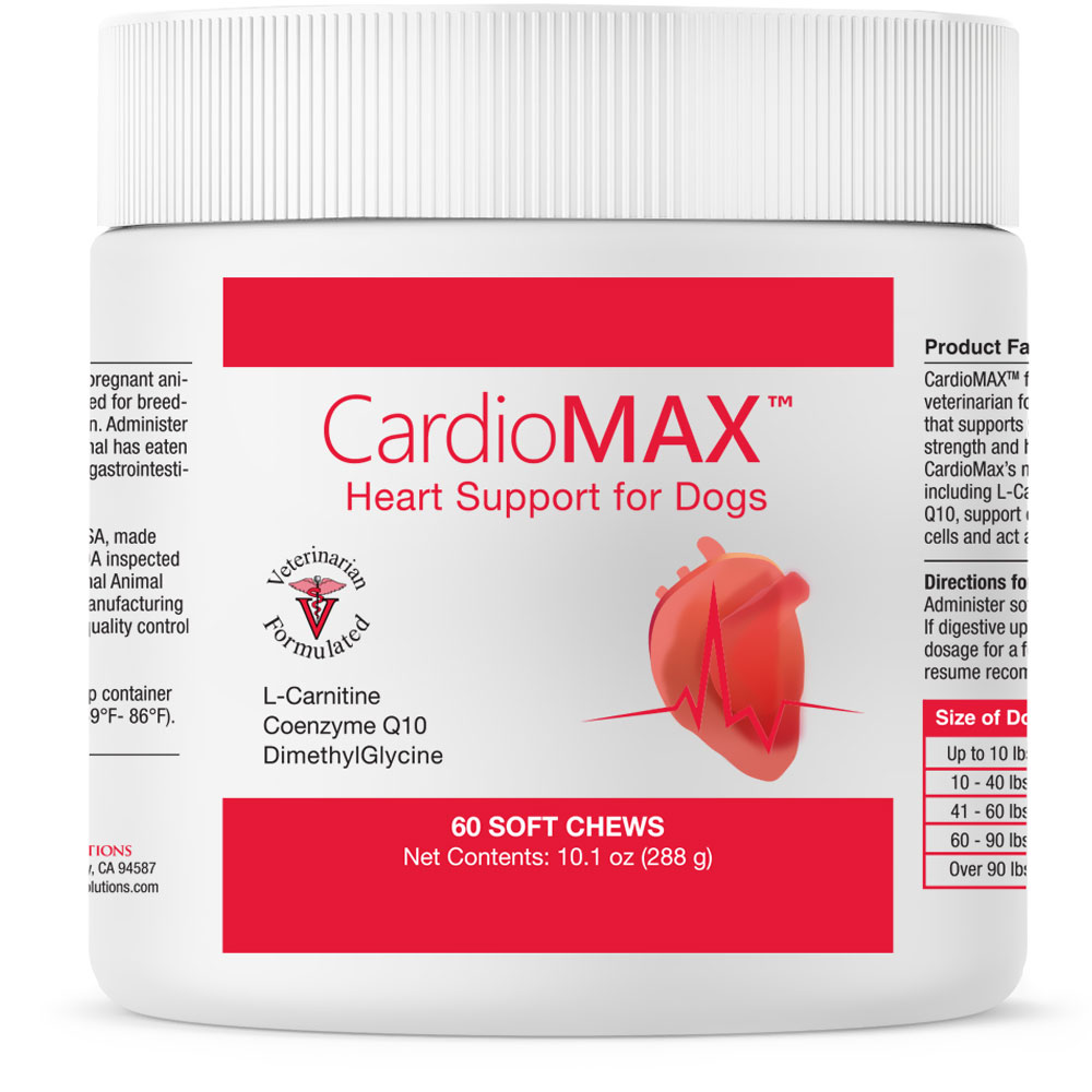Image of CardioMAX Heart Support for Dogs (60 Soft Chews)
