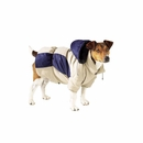 Casual Canine Base Camp Parkas Blue Beige -XSmall