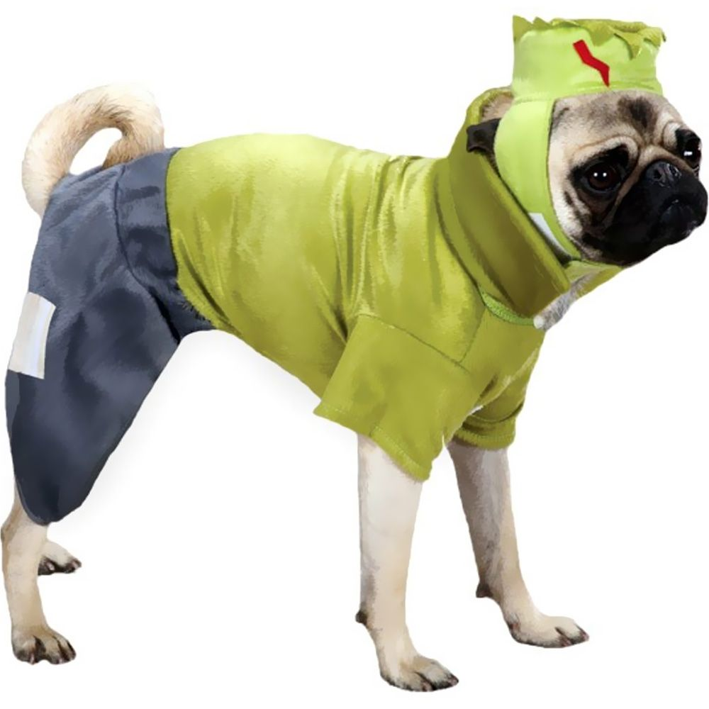 CASUAL-CANINE-FRANKENHOUND-COSTUME-GREEN-XSMALL