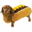 Casual Canine Hot Diggity Dog Costume Mustard - LARGE