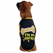 Casual Canine I'm So Corny Tee Black - SMALL/MEDIUM