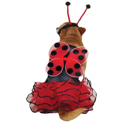 CASUAL-CANINE-LUCKY-BUG-COSTUME-RED-XSMALL