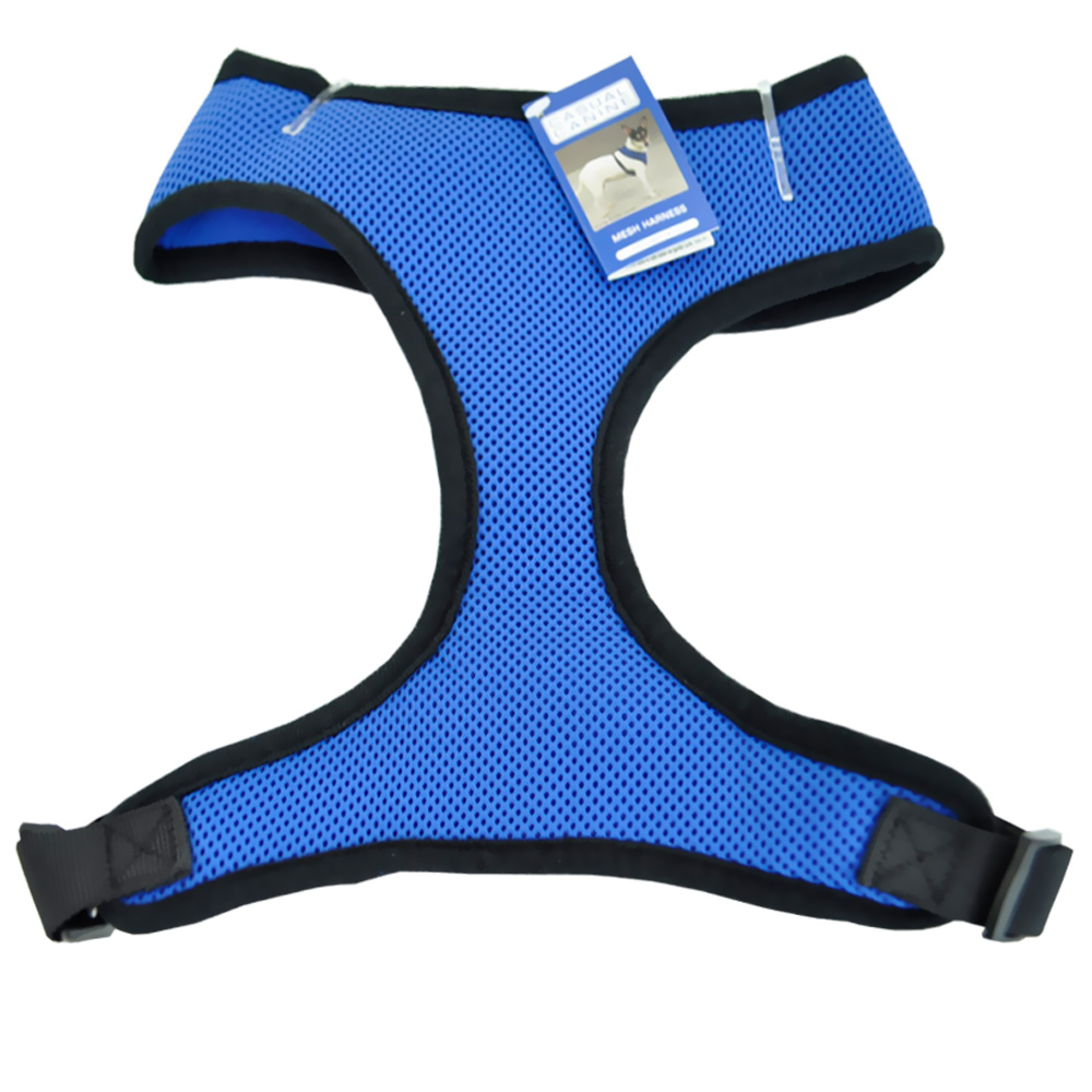 CASUAL-CANINE-MESH-HARNESS-VEST-LARGE-BLUE
