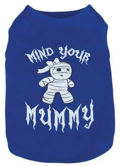 CASUAL-CANINE-MIND-YOUR-MUMMY-TEE-BLUE-SMALL
