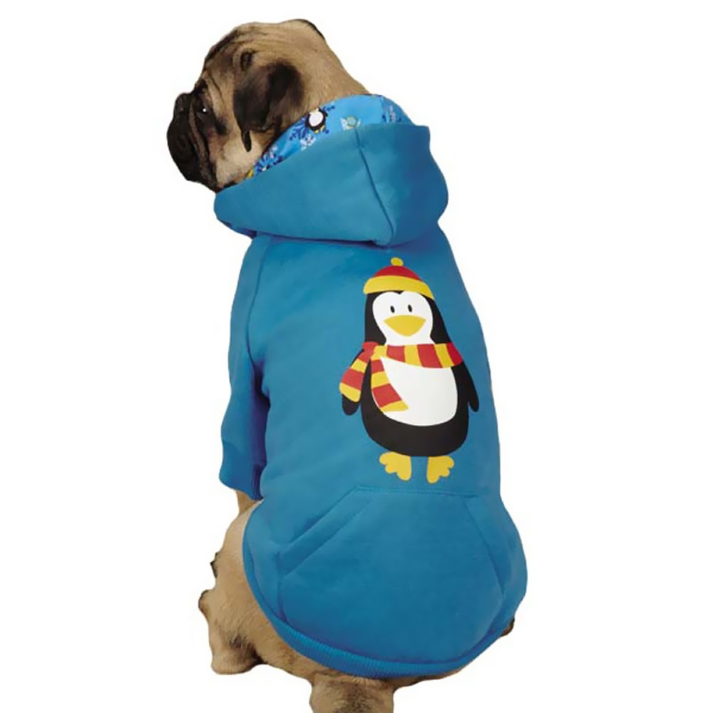 CASUAL-CANINE-NORTH-POLE-PALS-HOODIE-PENGUIN-X-SMALL