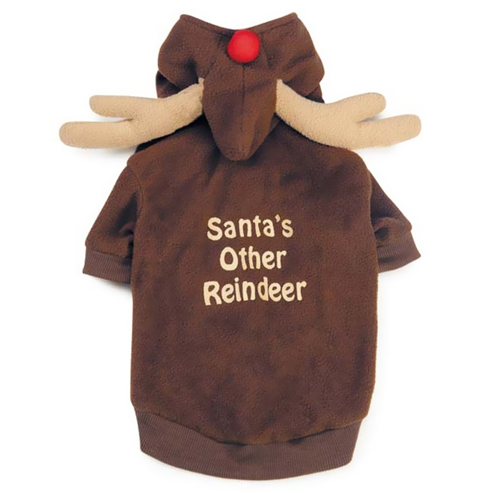 CASUAL-CANINE-REINDEER-HOODIE-BROWN-X-LARGE