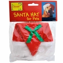 Casual Canine Santa Hat for Pets 4 in Wide