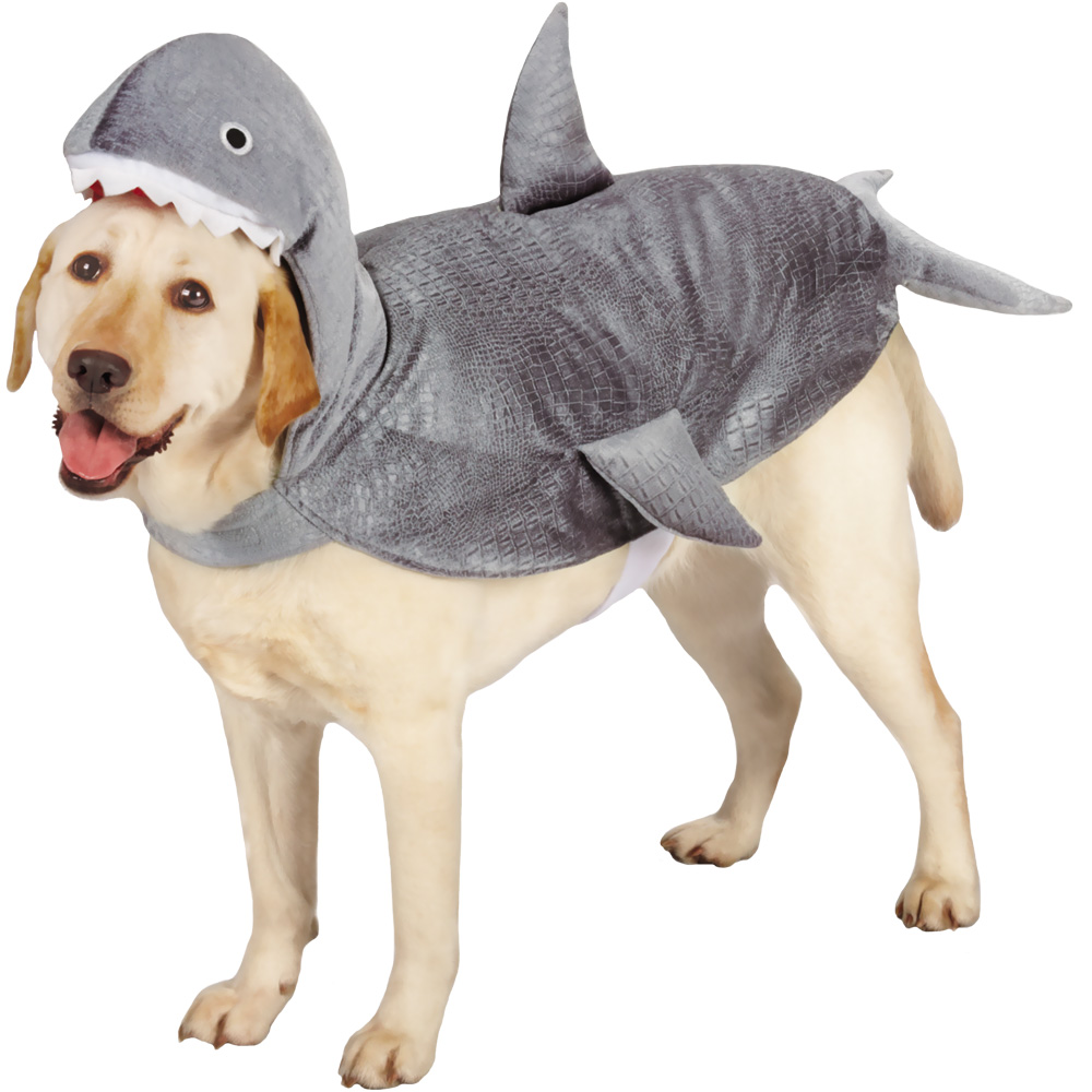 Image of PetEdge Casual Canine Shark Costume - X-Small from EntirelyPets