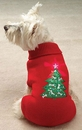 Casual Canine Twinkling Star Holiday Sweater (X-Small)