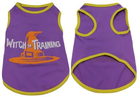 CASUAL-CANINE-WITCH-IN-TRAINING-TEE-PURPLE-X-SMALL
