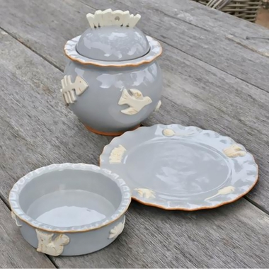 CAT-FOOD-WATER-BOWL-FRENCH-GREY