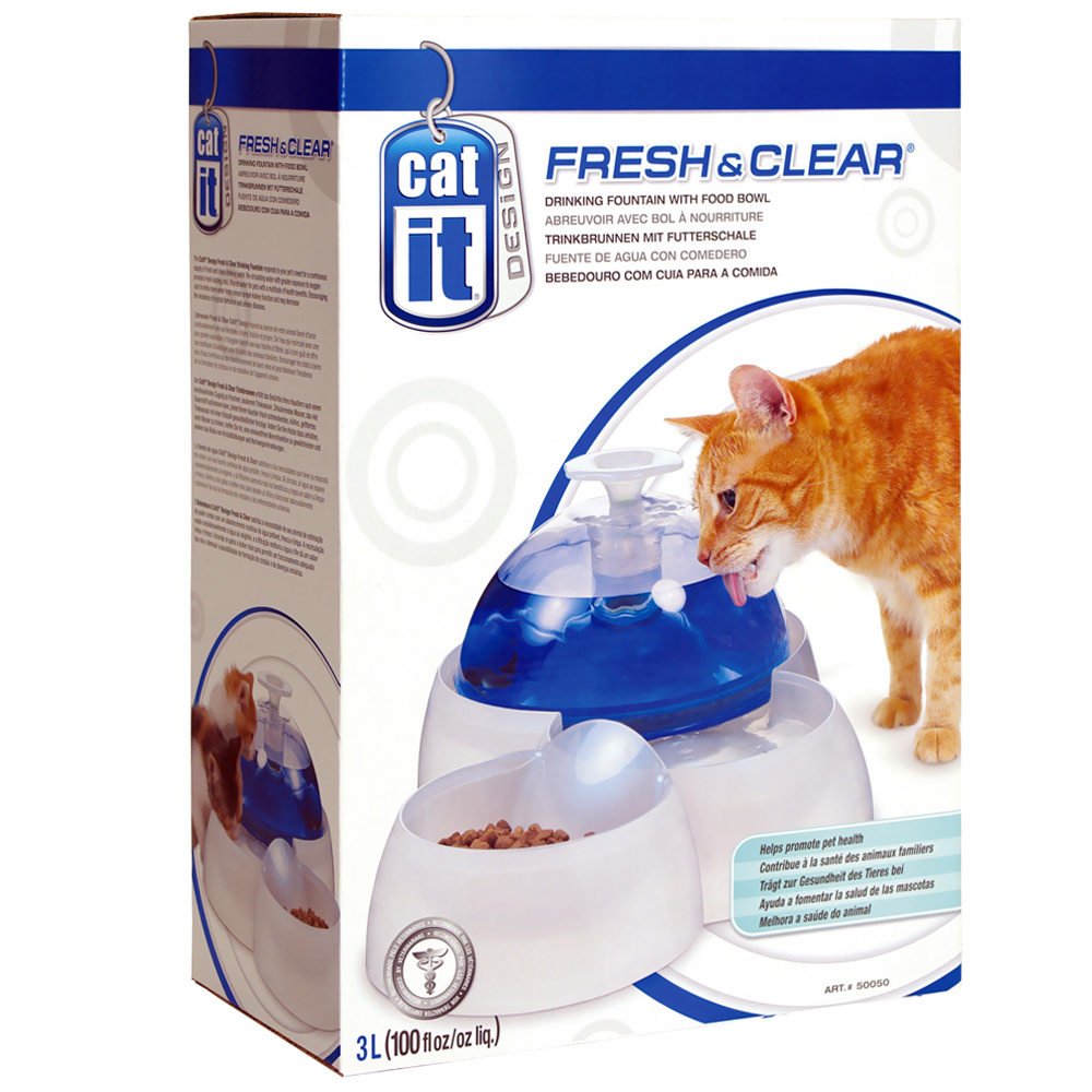 Image of Cat-It LARGE Fresh & Clear Drinking Fountain (100 oz)
