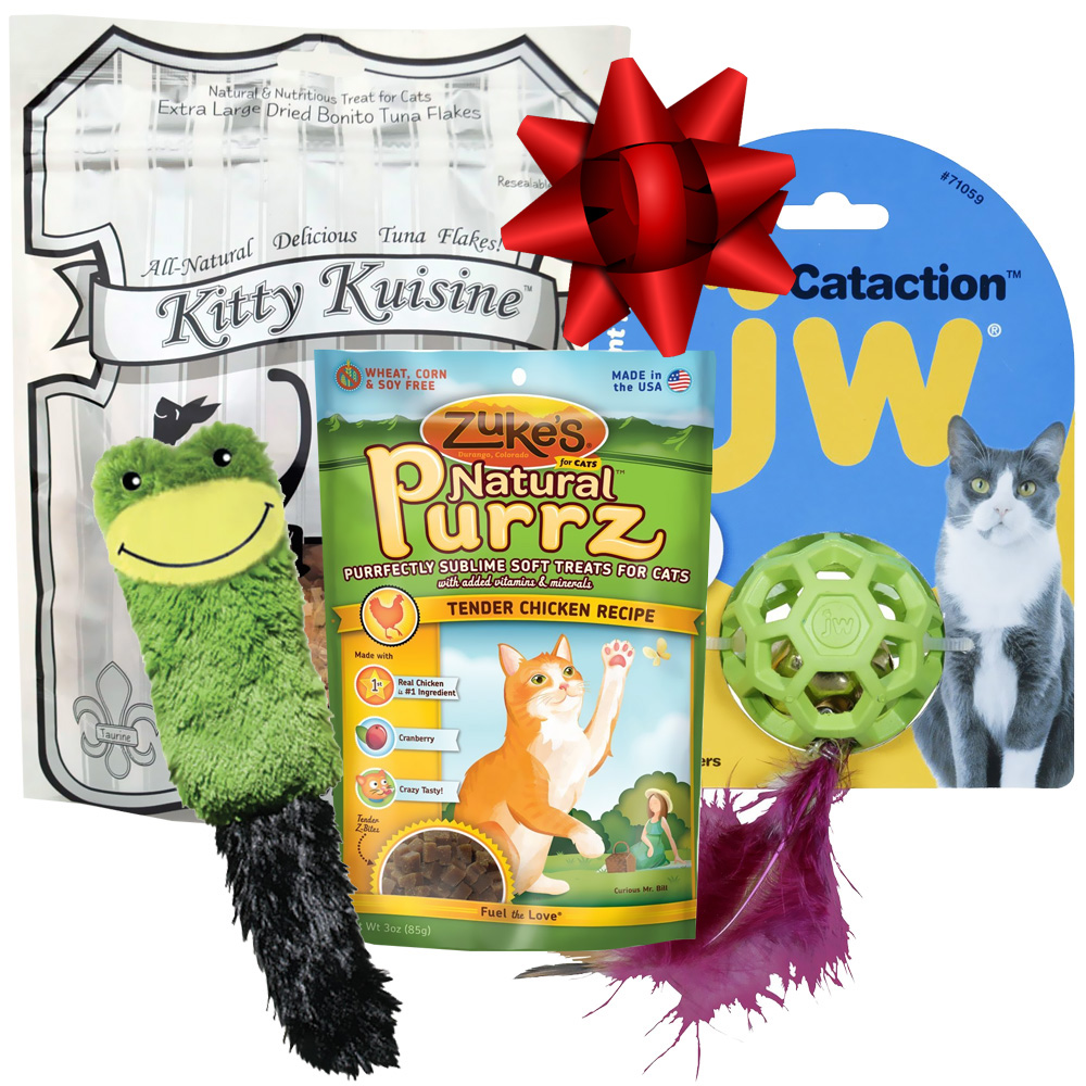 Cat Pack Gift Set from EntirelyPets