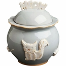 Cat Treat Jar - French Grey