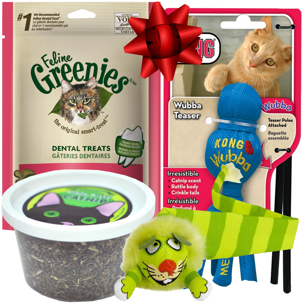 Cat Treats Gift Set from EntirelyPets