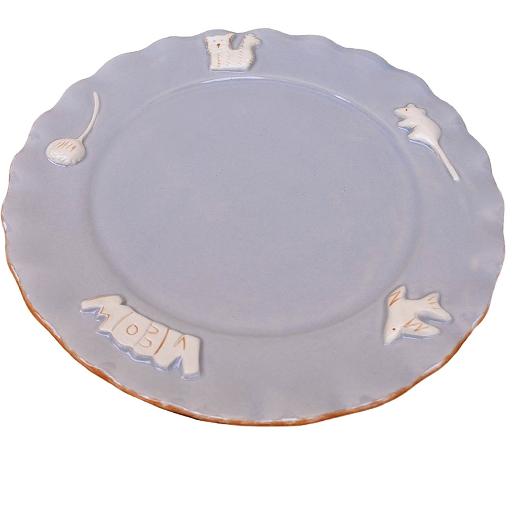 Image of Cat Whisker Plate - French Grey