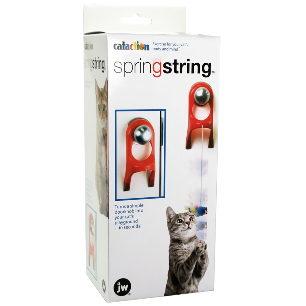 Image of Cataction SpringString Cat Toy