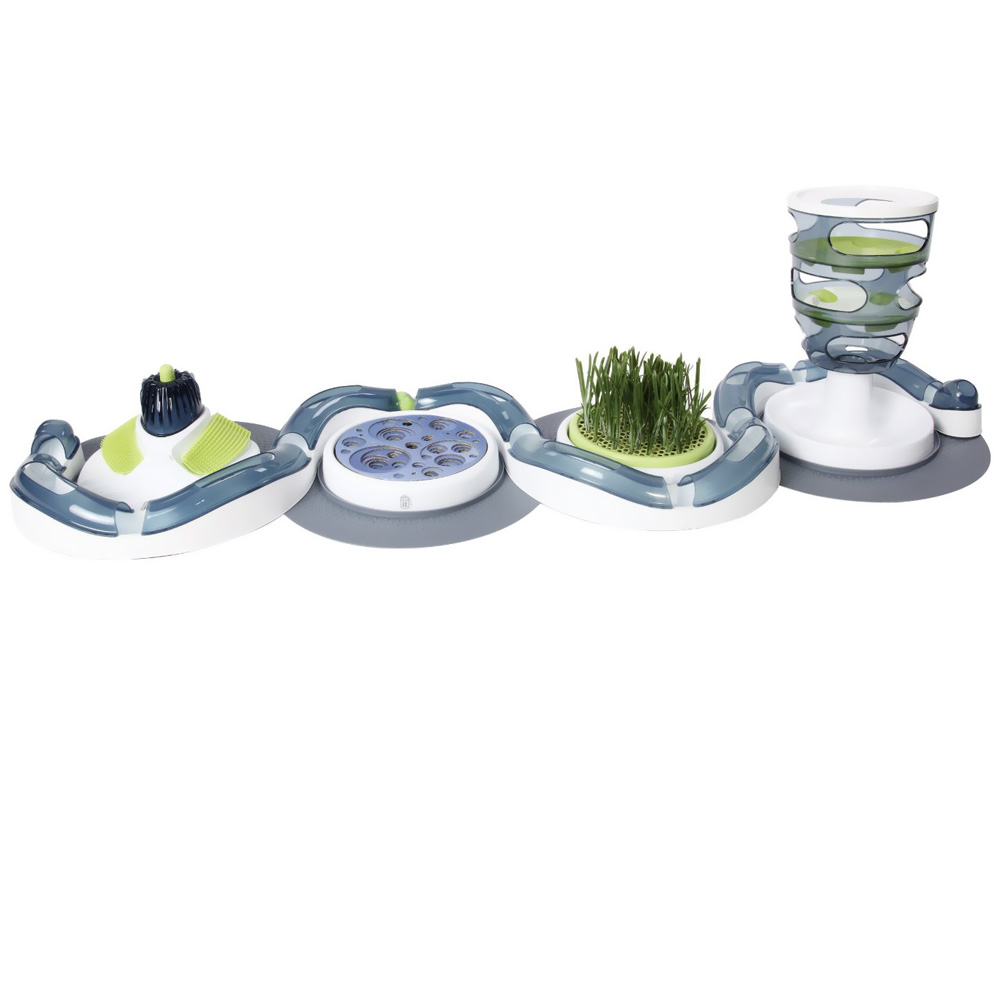Catit Design Senses Grass Garden Kit On Sale Entirelypets