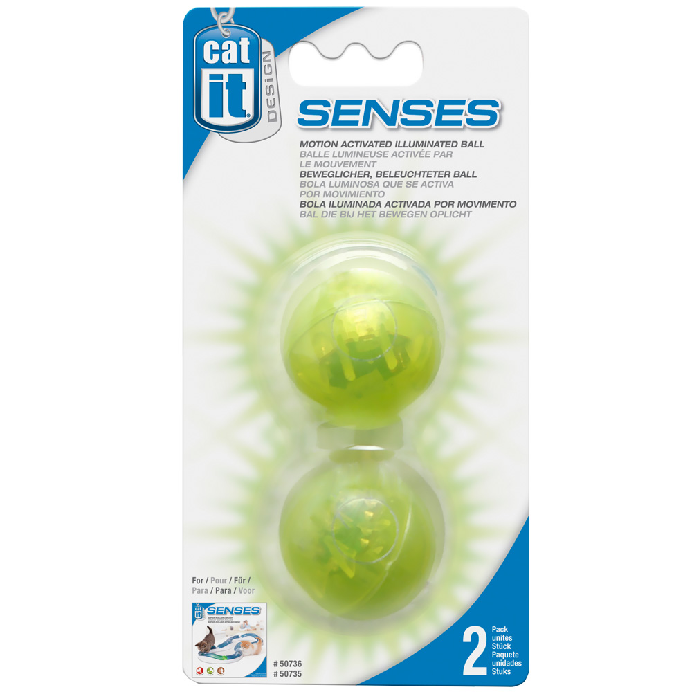 Catit Design Senses Illuminated Ball im test