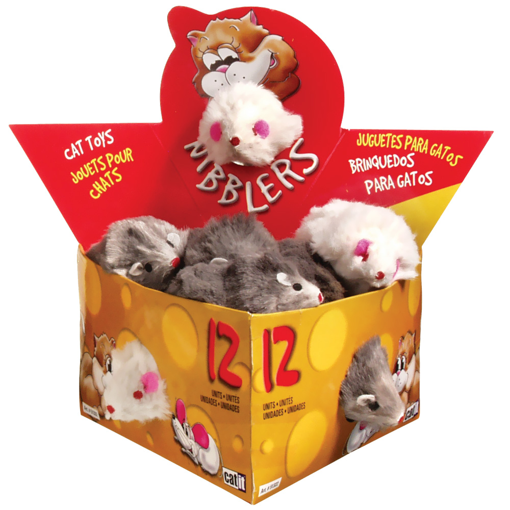 Catit Fur Mouse (12/Box) - Large im test