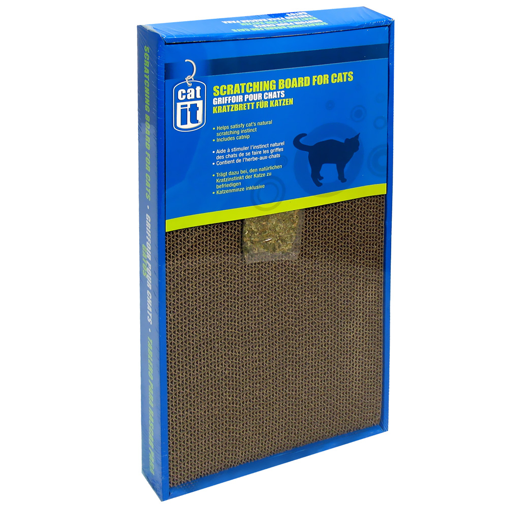 Image of Catit Scratcher with Catnip, Wide - Large - from EntirelyPets