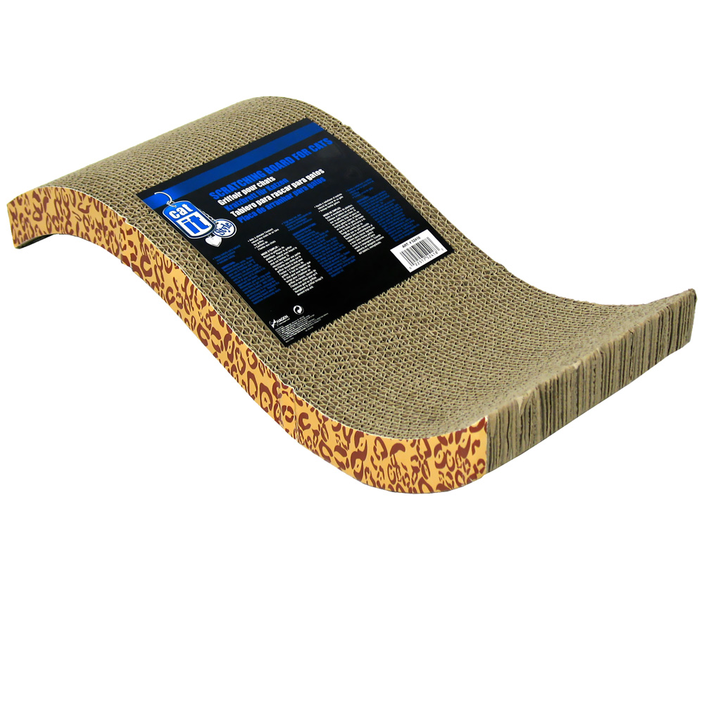 Image of Catit Style Scratch with Catnip - S-Chaise