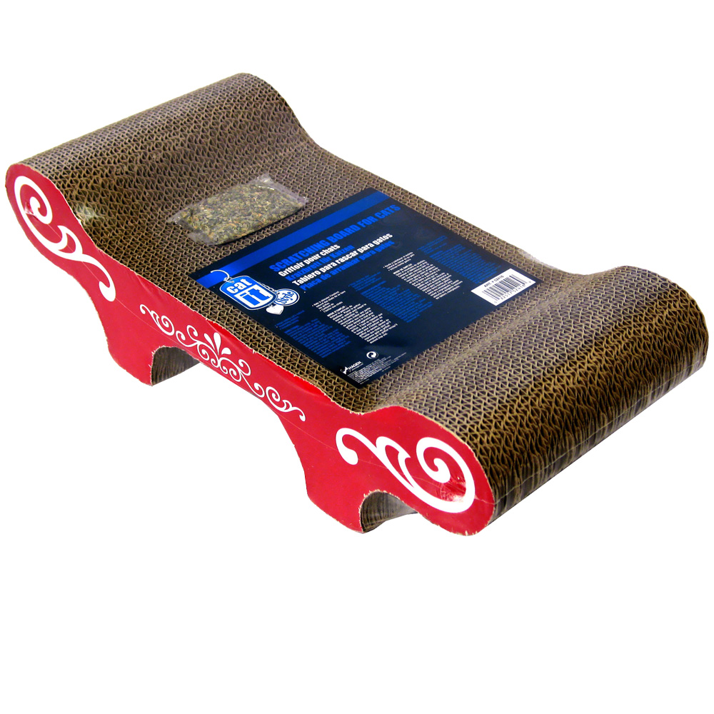 Image of Catit Style Scratcher with Catnip - Bench
